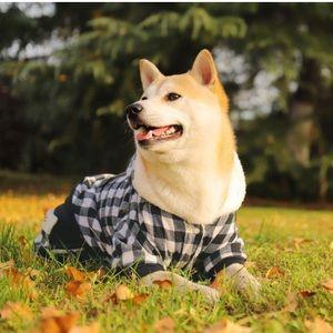 🐶2/$25 PAWZ road dog plaid cost pet winter Size L